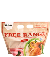 Brink's Free Range Chicken Pack